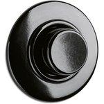 Bakeliet dimmer zwart inbouw