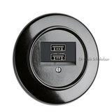 Bakeliet_USB_aansluiting