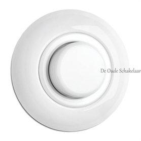Porselein wit dimmer inbouw