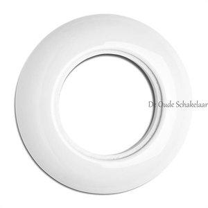 Porselein wit afdekraam enkel inbouw THPG